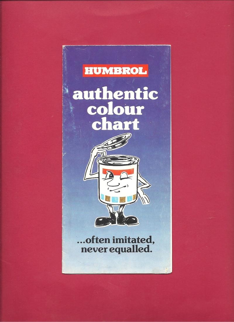 [HUMBROL 198.] Dépliant peinture authentic 198. Humbr106