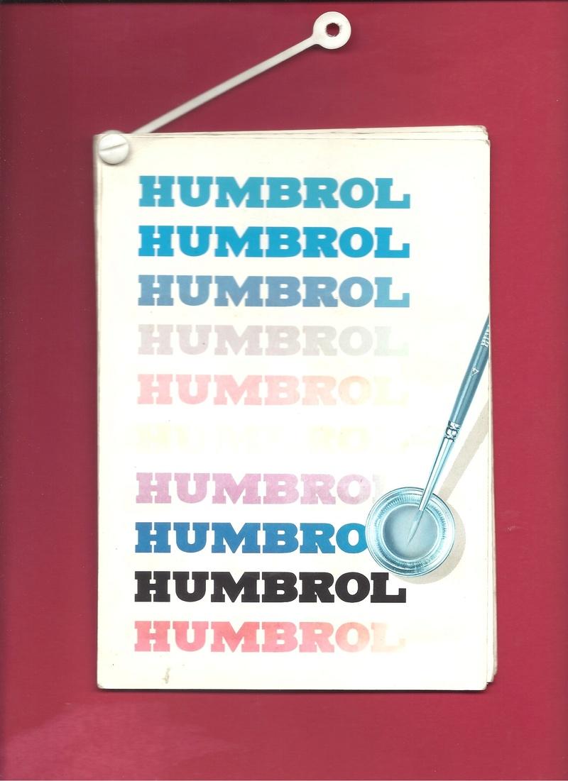 [HUMBROL 199.] Nuancier présentoir peintures 199.  Humbro86