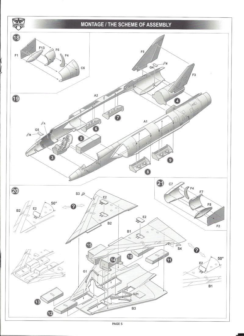 dassault mirage - [MODELSVIT] DASSAULT MIRAGE III V 02 1/72ème Réf 72034 Models23