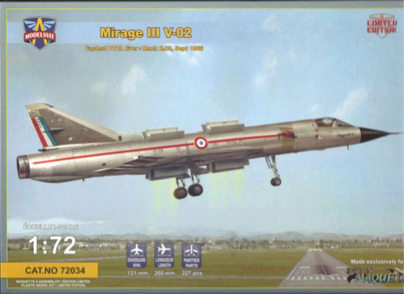 dassault mirage - [MODELSVIT] DASSAULT MIRAGE III V 02 1/72ème Réf 72034 Models26