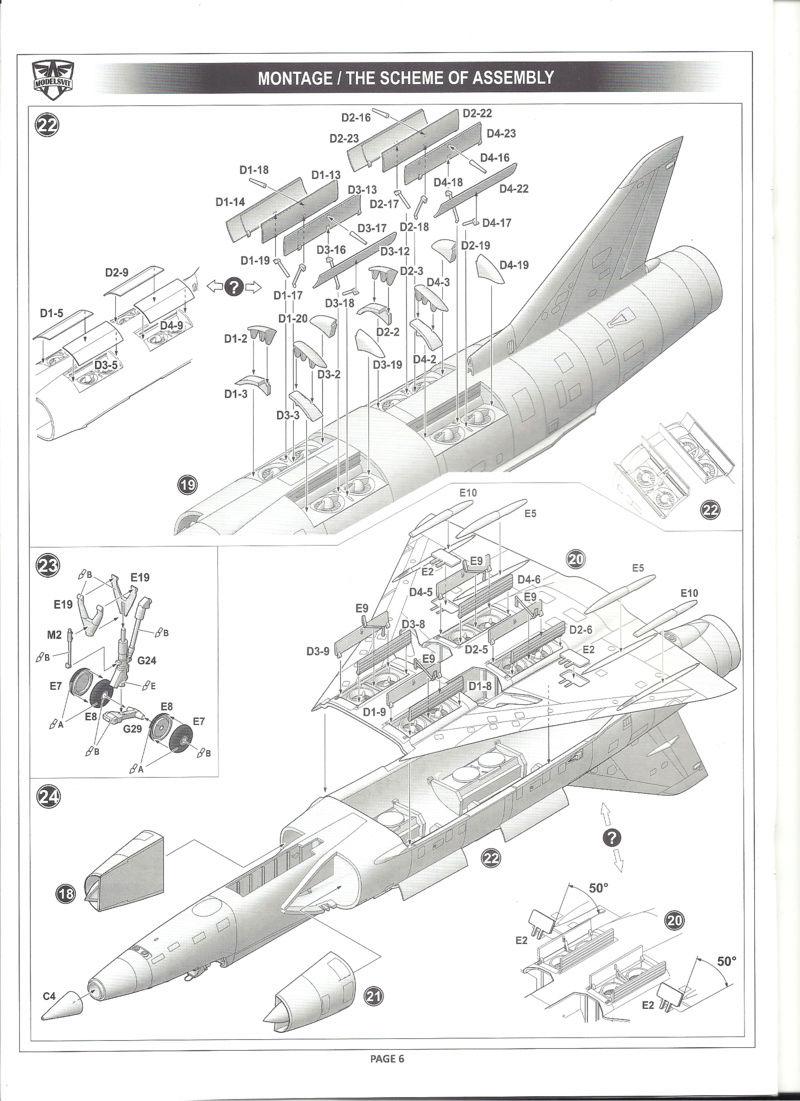 dassault mirage - [MODELSVIT] DASSAULT MIRAGE III V 02 1/72ème Réf 72034 Models27