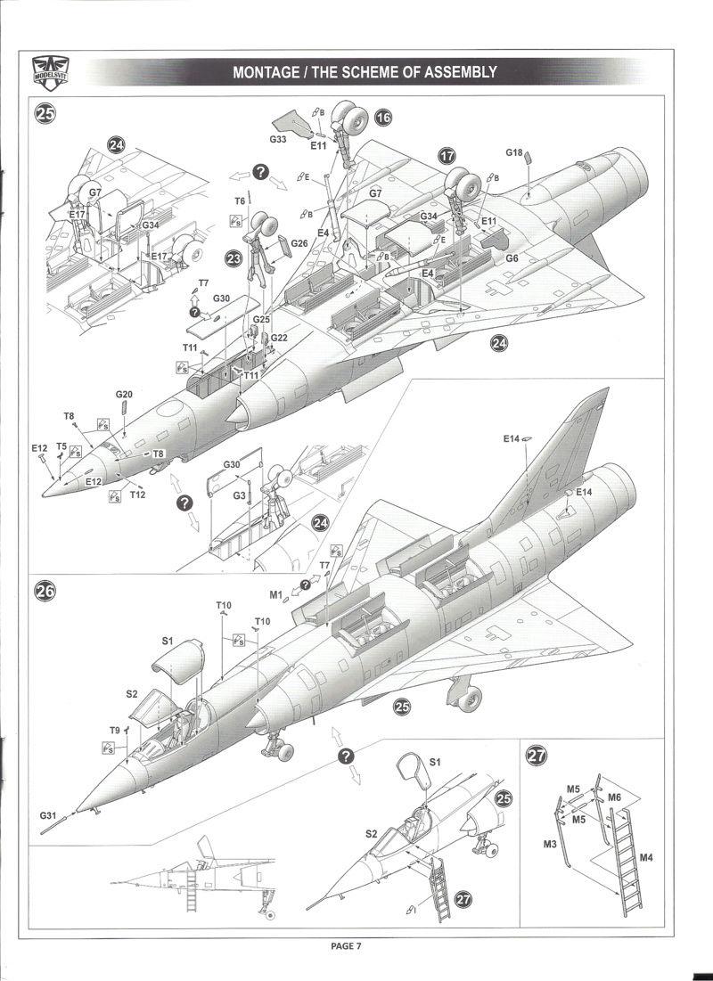dassault mirage - [MODELSVIT] DASSAULT MIRAGE III V 02 1/72ème Réf 72034 Models29