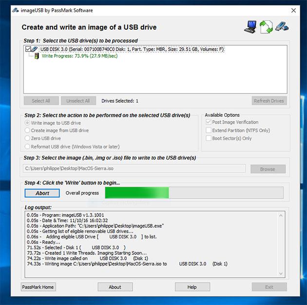 Clef USB macOS Mojave / macOS High Sierra / macOS Sierra dans Windows - Page 22 Captur13