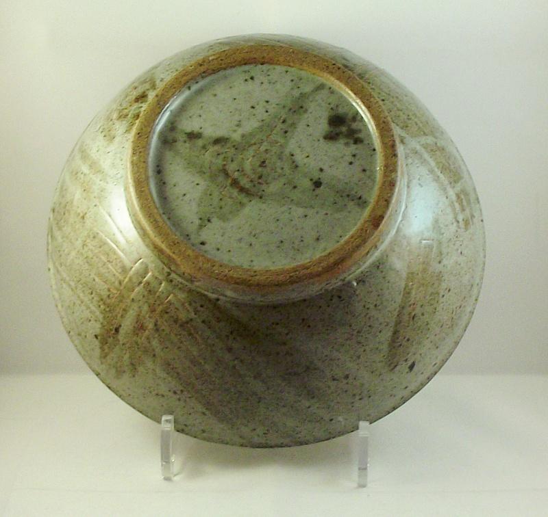 Unmarked stoneware bowl, possibly Scottish. Dscf8611