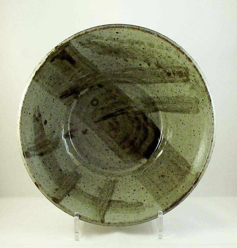 Unmarked stoneware bowl, possibly Scottish. Dscf8613