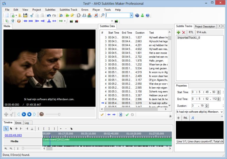 AHD Subtitles Maker Professional Edition 5.22.133 704410