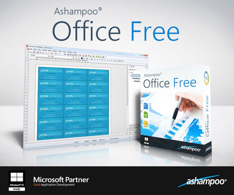Αποκτήστε δωρεάν τις εφαρμογές Ashampoo Burning Studio 2017 και Ashampoo Office Free Scr_as18