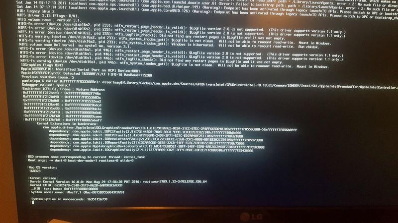 probléme instalaction 16107410