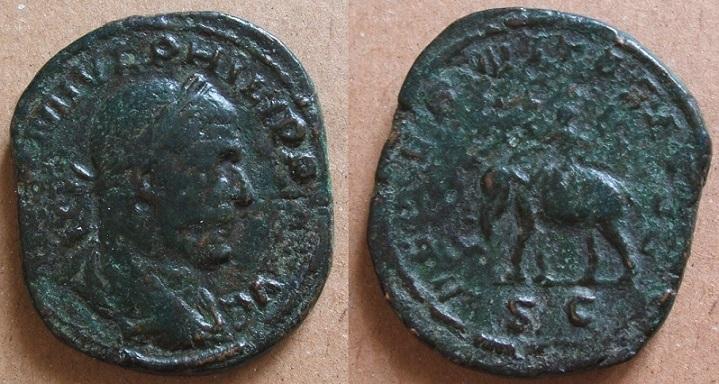 Mes bronzes du 3ème siècle - Page 11 Philip11