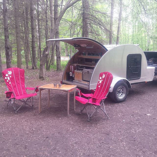 Hand-Built Teardrop Camper Trailer with Solar Power & Running Water - Perfect Mini RV (ON, CA) 0b153210