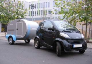 Cute Teardrop - City caravan (made in CZ) 210