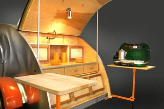 Delightfully unique with a modern twist - this trailer has something special hidden inside (Orange Pop Model) 41618110