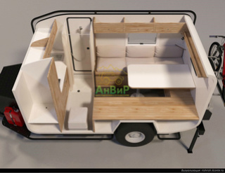 Anvir campers Via Lander - offroad camper trailer made in Russia    SuperSozopol  Rz2_l10