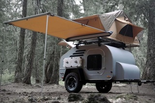 5 Small Camper Trailers For Awesome Off-Road Vacations Teardr10