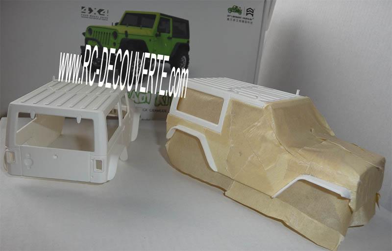 Orlandoo OH35A01 Kit Jeep 1/35 mini crawler présentation découverte montage et essai - Page 3 Orland15