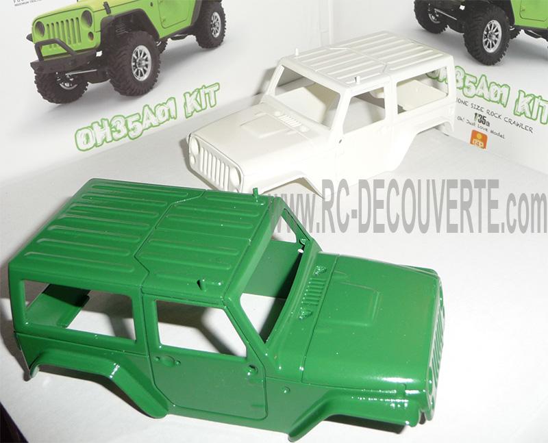 Orlandoo OH35A01 Kit Jeep 1/35 mini crawler présentation découverte montage et essai - Page 3 Orland21