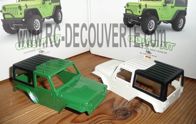 Orlandoo OH35A01 Kit Jeep 1/35 mini crawler présentation découverte montage et essai - Page 4 Orland22