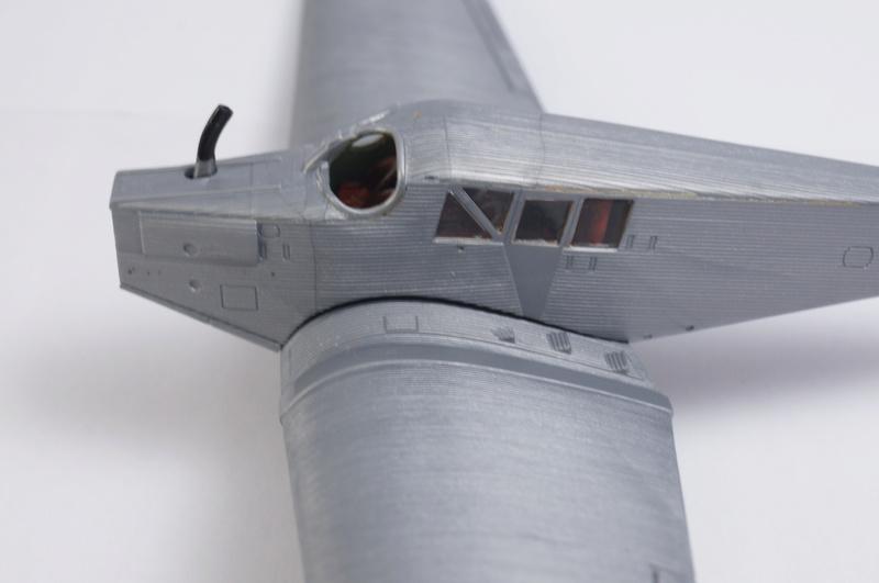Junkers F13W Seaplane, Revell, 1/72 Dsc08712