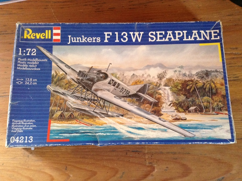 Junkers F13W Seaplane, Revell, 1/72 Img_0610