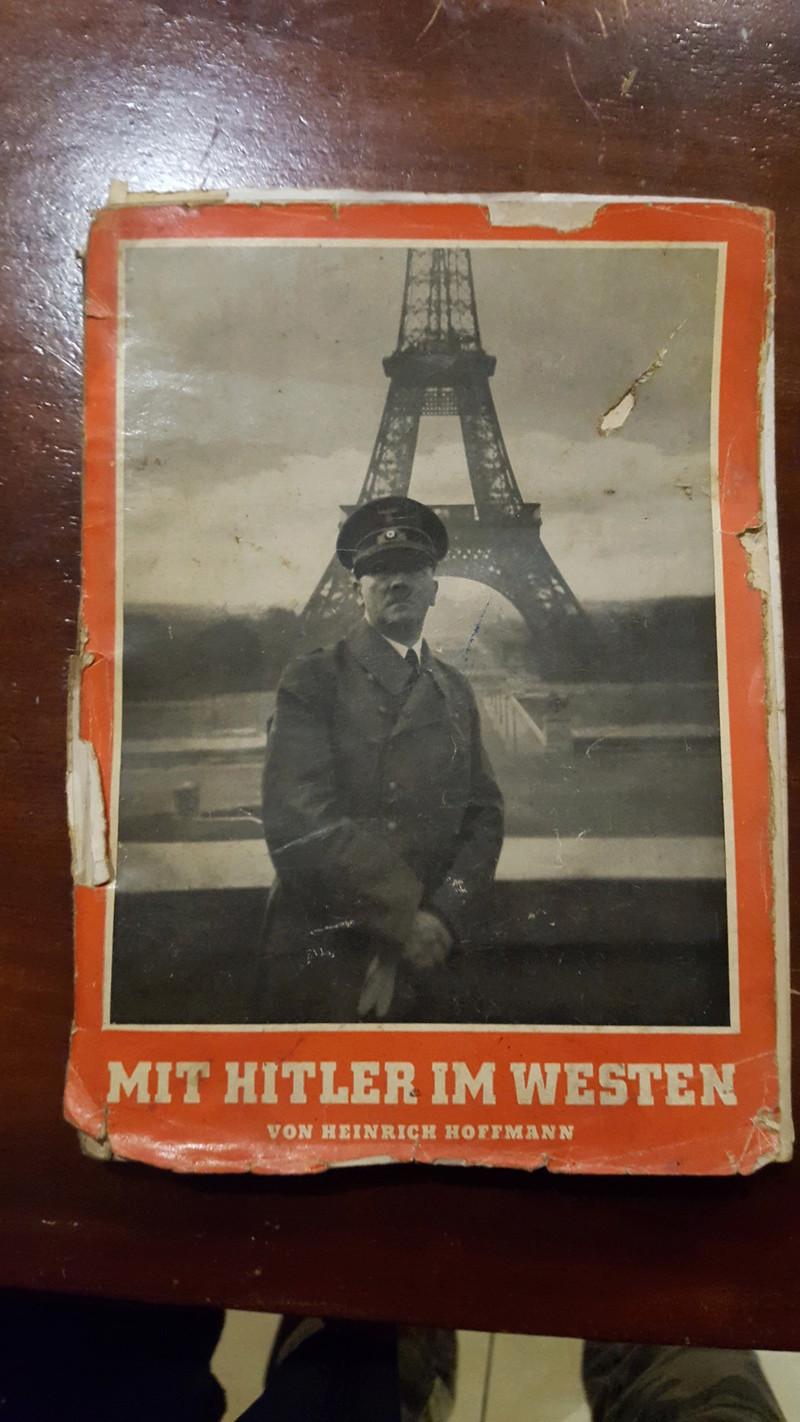 """Rstimation livre Photo """"Mit Hitler im Westen"""" et enveloppe 20161210"""