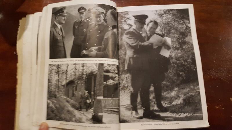 """Rstimation livre Photo """"Mit Hitler im Westen"""" et enveloppe 20161212"""
