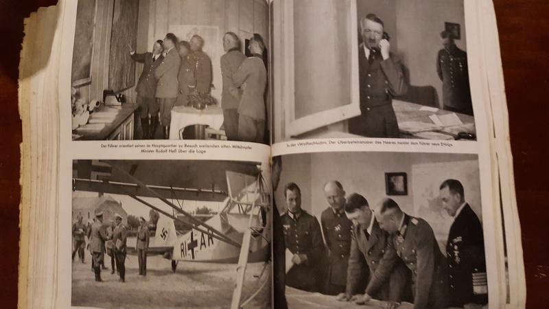 """Rstimation livre Photo """"Mit Hitler im Westen"""" et enveloppe 20161215"""