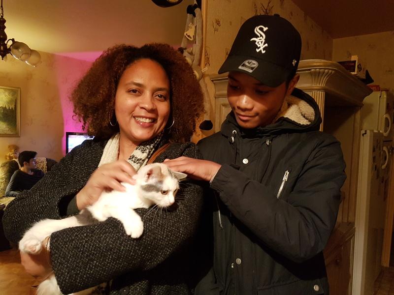 KYTTY - chat femelle, née septembre 2016 - CHEZ LUMINITA - En FA chez Abysse (dpt92) - ADOPTEE PAR SANDRA (depart94) 20170121