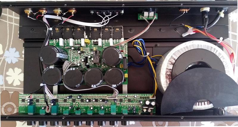 Mini-recensione amplificatore monofonico per subwoofer Reckhorn A-409 Reckho10