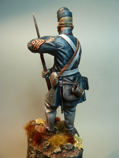 First Sergeant USMC  1850 , Fer Miniatures 75 mm P1090215