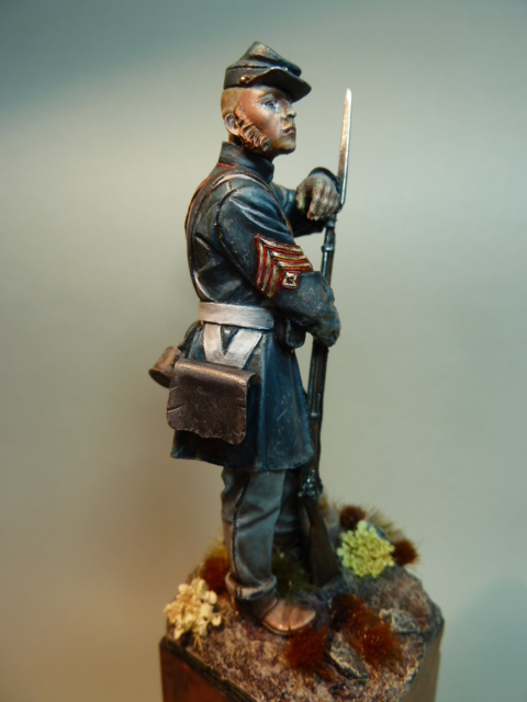 First Sergeant USMC  1850 , Fer Miniatures 75 mm P1090217