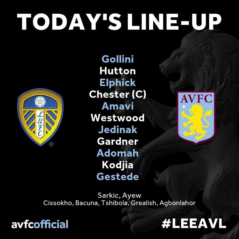 Leeds Utd v Aston Villa, Elland rd, saturday 3rd December, 17.30 kick off. Build up and matchday thread Leeds10