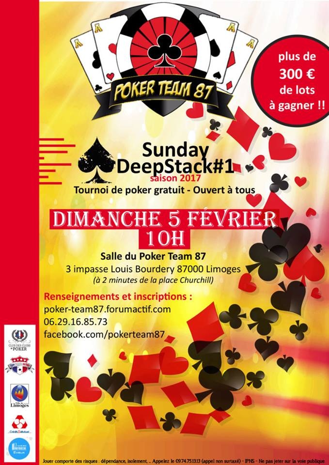 Open Sunday Deepstack Poker Team 87 15977710