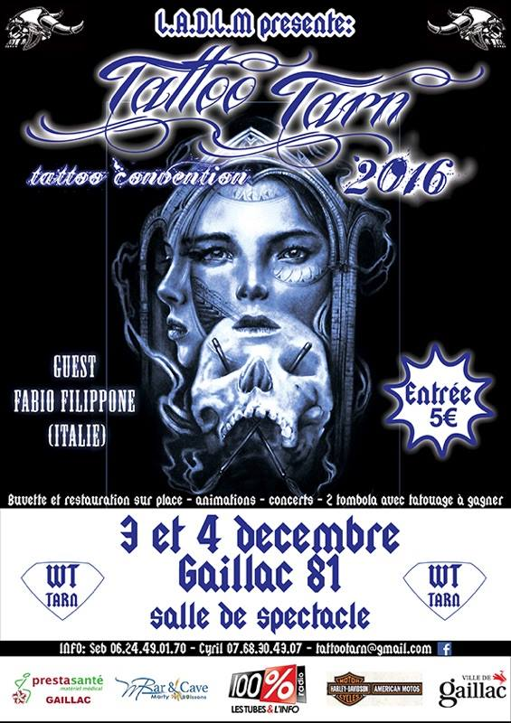 convention TATTOOTARN 2016 GAILLAC (81) 14591510