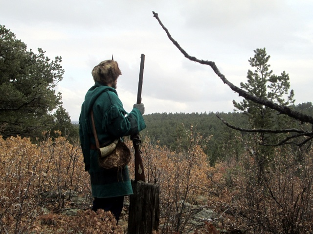 Traditions Hawken Woodsman + Precision Packer Img_8224
