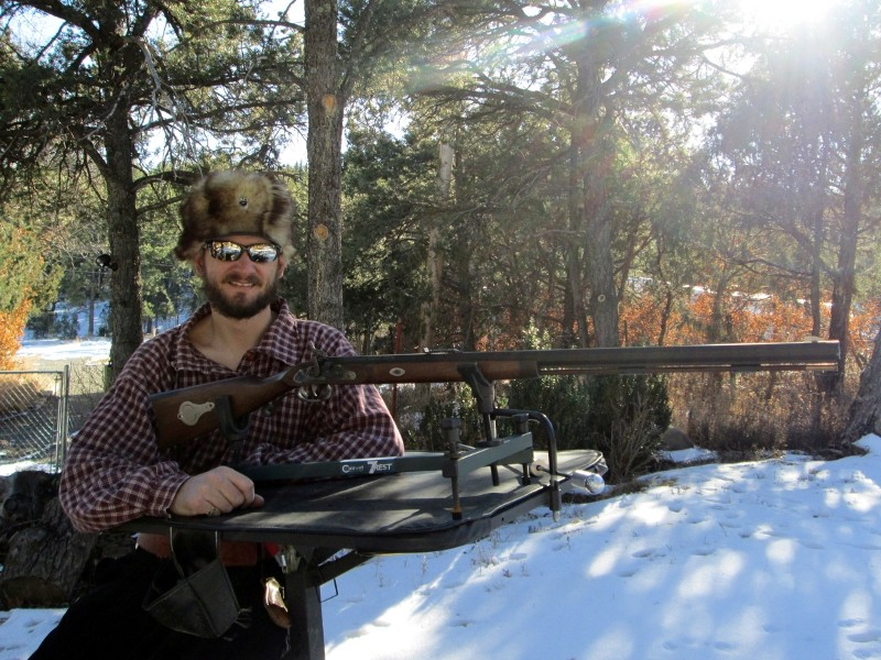 Conical Accuracy Test - Traditions Mountain Rifle Img_8420