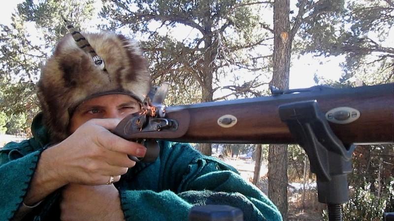 Mountain Rifle Flintlock experimenting Lock_s10