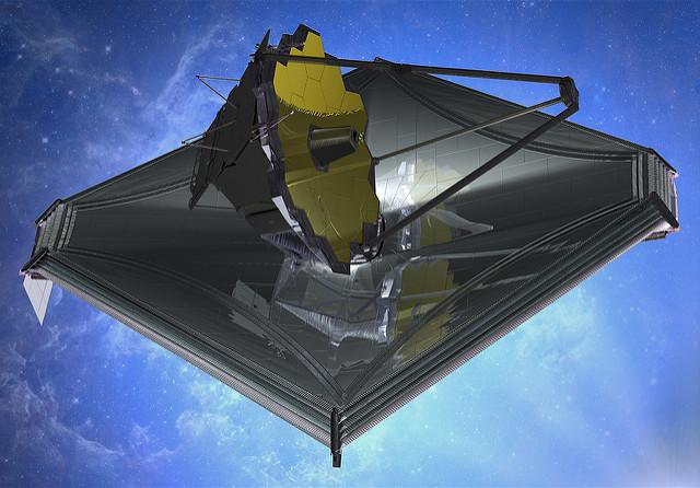 Le James Webb Spatial Telescope est prêt :-) Jmst0310