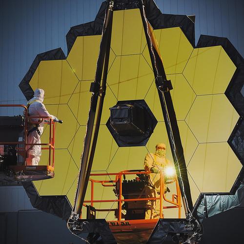 Le James Webb Spatial Telescope est prêt :-) Jwst0210
