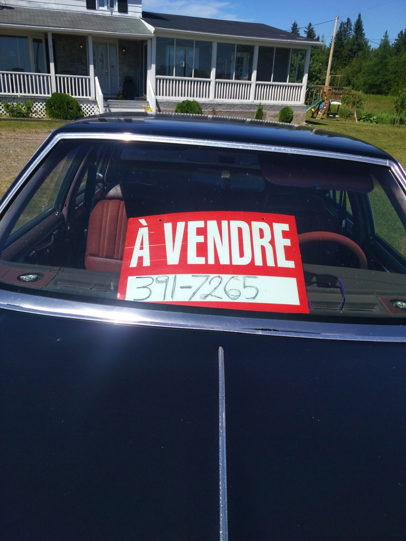 Oldsmobile Cutlass G-body à vendre. Img_2057