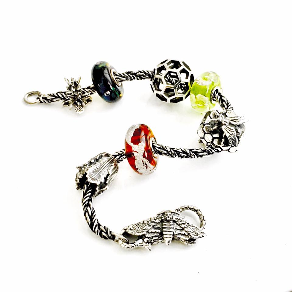 Coming soon - Faerybeads Death's Head Hawkmoth Lock Faeryb11