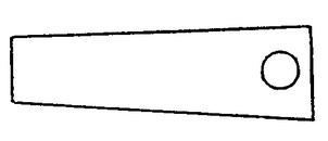 cale fibre entre chassis et ressorts 1042910