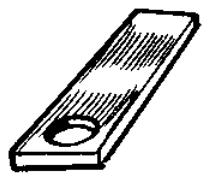 cale fibre entre chassis et ressorts 1044510