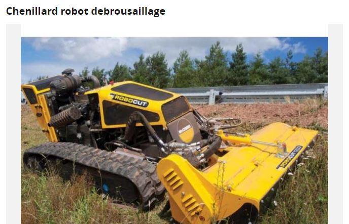 Nettoyage terrain Robo10