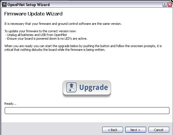 logiciel pour régler sa CC3D Captur10