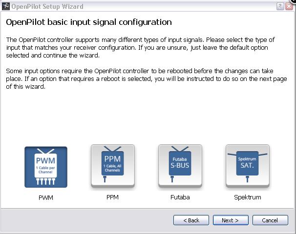 logiciel pour régler sa CC3D Captur11