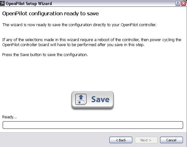 logiciel pour régler sa CC3D Captur15
