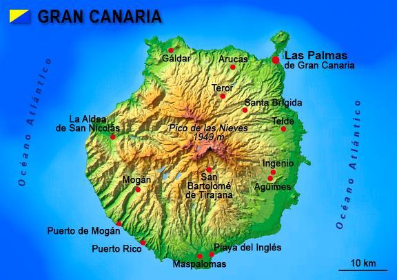 En ZOE sur l'île de la Grande Canarie Carte_10
