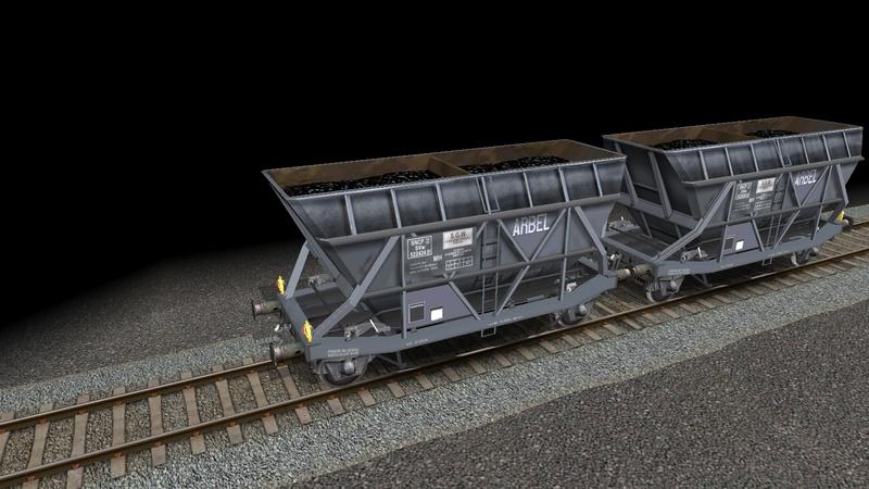 Série de coffrets pour TrainZ Girau101