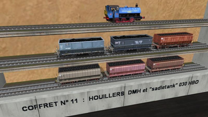 Série de coffrets pour TrainZ Girau106