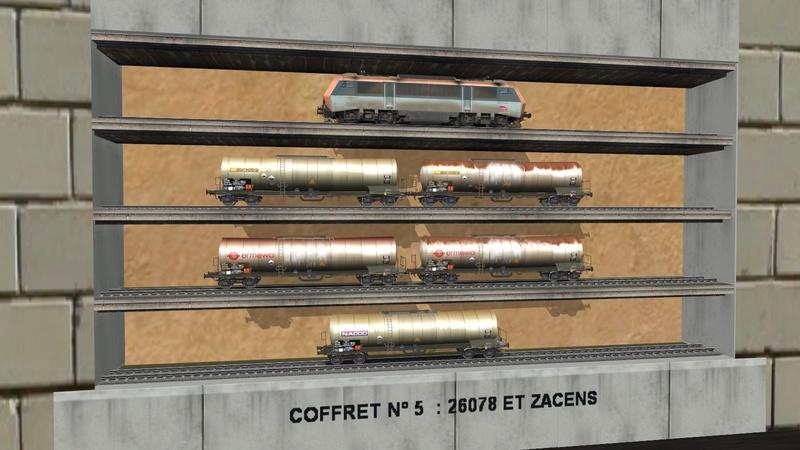 Série de coffrets pour TrainZ Girau107